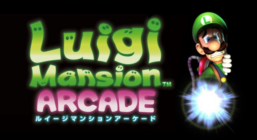 luigis mansion arcade game
