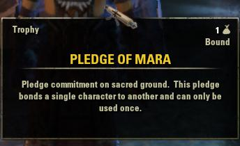 ESO Pledge of Mara