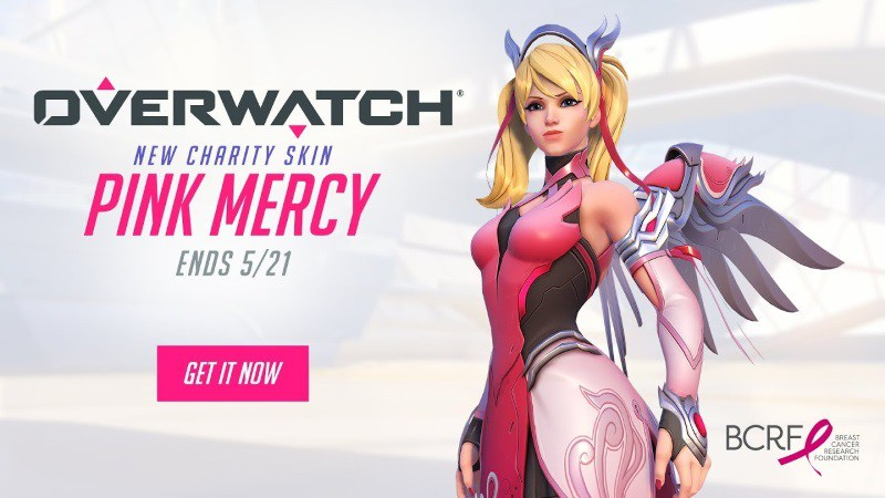 Overwatch-Pink-Mercy-charity-skin