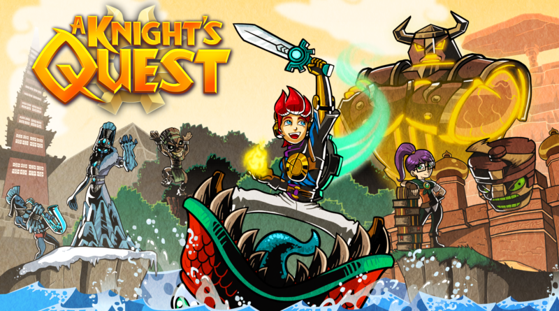 A Knight's Quest Title Art