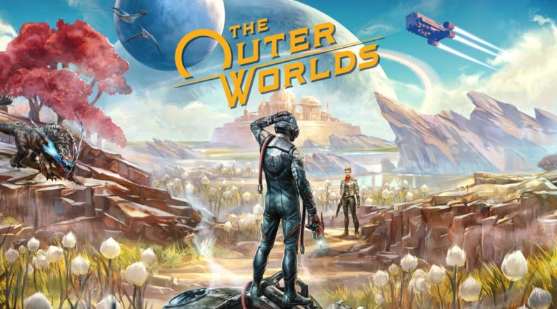 The Outer Worlds Logo Art