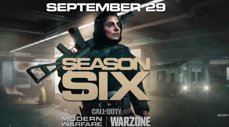 modern warfare and warzone season 6 trailer